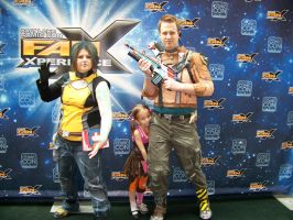 Borderlands 2 Family Cosplay by sugarpoultry