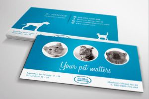 Veterinary Business Card by PrintDesign