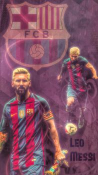 Messi - International Cup by Leo10thebest