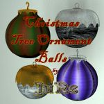 Christmas Tree Ball Ornaments by JuNe by weyrwoman-lessa