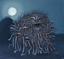 The Dunwich Horror by castlemonster