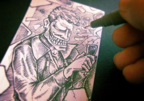 Joker Sketch Card Vol.02 by rehAlone