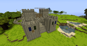 Castle 4 (WIP) Completed gatehouse 1 by CyberRune