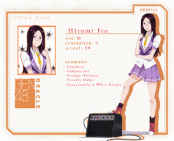 UNDERSTUDY:Hitomi Ito by SimplyLiah
