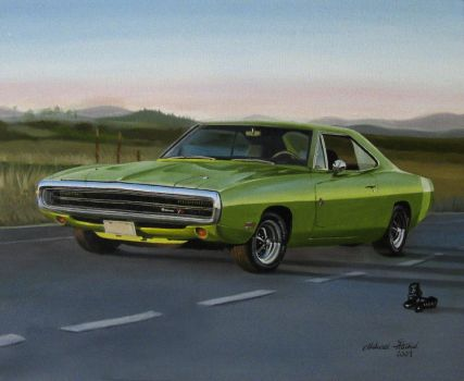 Dodge charger DONE by Regius