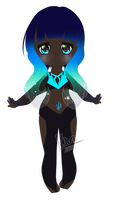 {Lighting Ridge Black Opal - Gemsona } by IKira-n