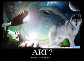 Art? Nope. Try again... by Zoso1024