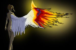 give me wings so that they may burn. by SPPlushies