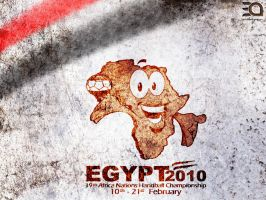 Egypt Handball 2010 Logo 1.1 by ebnyousry
