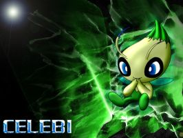 Shiny Celebi by Kenny21