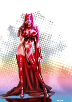 Scarlet Witch by MassimoGuidi