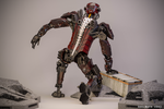 Mech Android Warrior Pose2 3d by cytherina