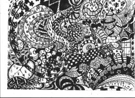 Zentangle by Picklemind