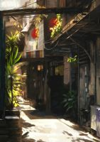 alley by Stephanieboehm