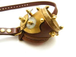 Steampunk Monogoggle 4-2 by AmbassadorMann