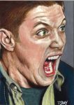 Dean Winchester Screaming by Dr-Horrible
