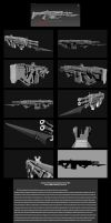 Contention: Exohuman Faderian Heavy rifle Gen 2 by Malcontent1692