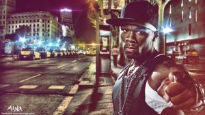 50 Cent Wallpaper by ManiaGraphic