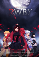 RWBY: Movie Poster by Tsureiyu