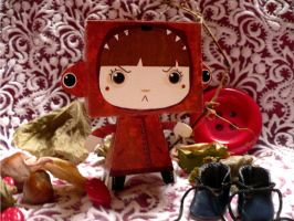 paperToys Little red riding..3 by RozennB
