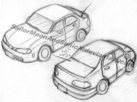 Drawing Attempt: Cars by SailorMoonAndSonicX