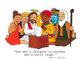 Religion is Phunny by DamnCartoonGuy