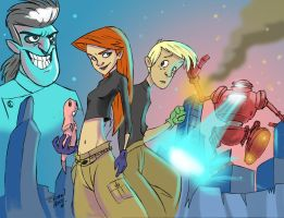 Kim Possible final by Hesstoons