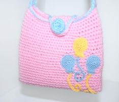 Pinkie Pie Cutie Mark Purse MLP by TheHarley