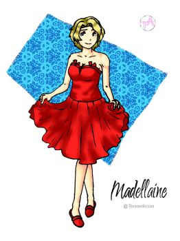 Disney Girl Challenge 27: Madellaine by ThemawtArcsion