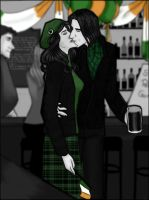 Severus and Evelyn- St. Patrick s Day by JosieCarioca