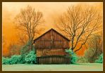 Weathered barn.IRD200-1773, with story by harrietsfriend