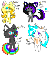 ~~.:/| Chibi Sonic Adoptables *CLOSED*|:.~~ by X-UnKnownRituals