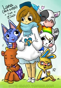 Mayor Lana and friends! by Asterismo