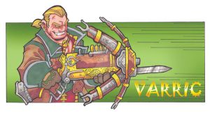 Varric by badgerlordstudios