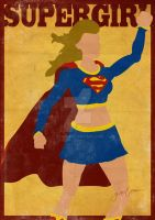 SuperGirl Minimal by GTR26
