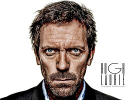 Hugh Laurie HDR by Ferjon