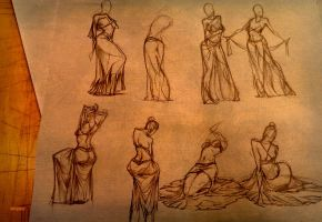 Life Drawing 6 by marvelmania