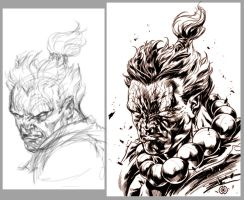Akuma by caananwhite