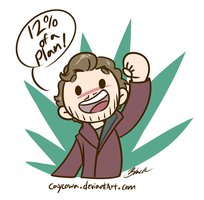 Star Lord - 12 percent of a plan by caycowa