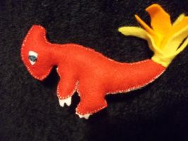 Charmeleon Plush by NerdLass