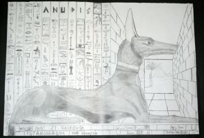 Anubis by SPIDIvonMARDER