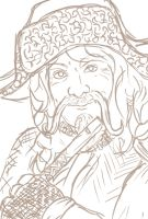 Bofur sketch by youralittleteapot