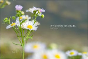 If you want to be happy... by khearra