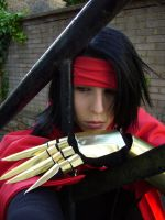 VINCENT VALENTINE THINKING by Chaosvin