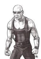 Daily Sketches Riddick by fedde