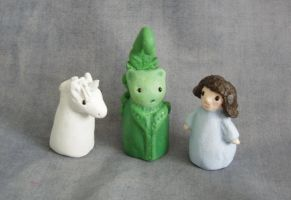 Finger puppets by moarre