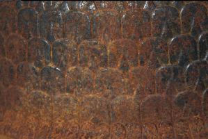 Rusty texture 1 by enframed