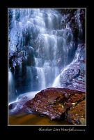 Hareshaw Linn Waterfall 2 by newcastlemale