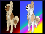 Late Helloween Lakotha dog imports *Closed* by blueshinewolfstar1
