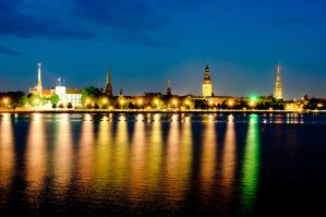 Old Riga by elgars